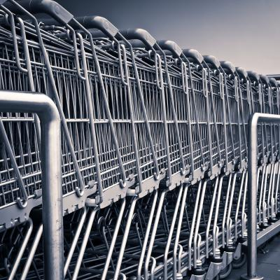 shopping cart retail clean up days